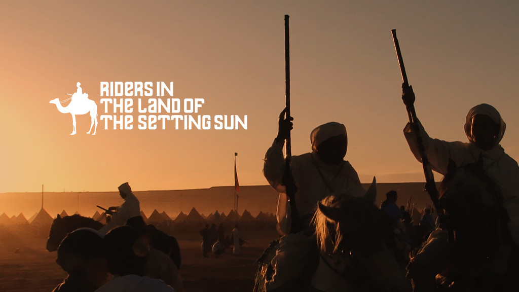 RIDERS IN THE LAND OF THE SETTING SUN