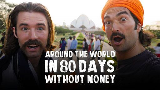 Around the World in 80 days without Money!